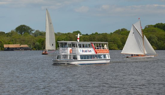 Wroxham, UK: out on the broads