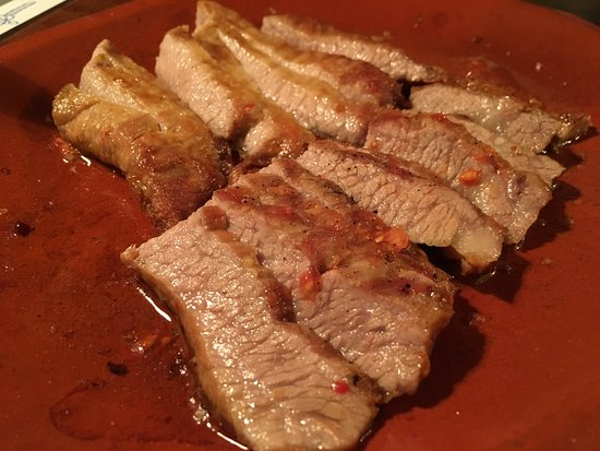 Ses Salines, Spain: Josper-grilled Secreto Iberico