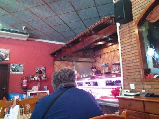 Mollet del Valles, Spania: Interior restaurante