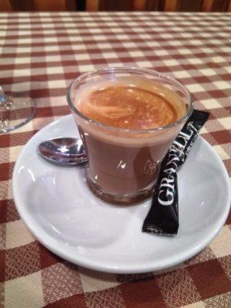 Mollet del Valles, Spania: Café cortado
