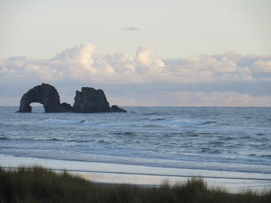 Rockaway Beach, OR: View from our room!
