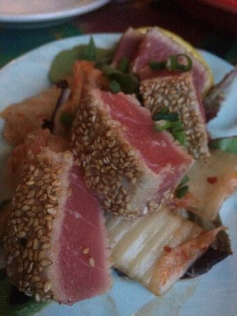 Hallowell, ME: seared tuna
