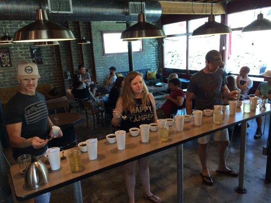 Shasta Lake, CA: coffee education