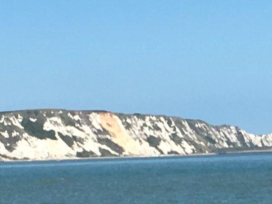 Folkestone, UK : Overlooking the white cliffs