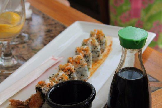 Caneel Bay, St. John: sushi