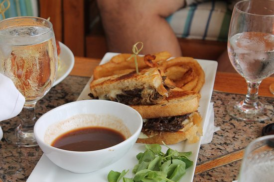 Caneel Bay, St. John: French dip was incredible