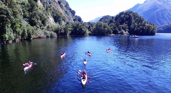 Manapouri, New Zealand: Kaya