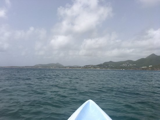 Cul de Sac, St. Maarten-St. Martin: Day trip to Pinel Island -windward side