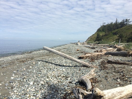 Coupeville, WA: Beach at Fort Ebey State Park