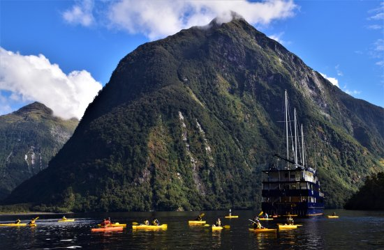Manapouri, New Zealand: Doubtful Sound Kayaking with Real Journeys