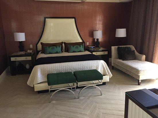 King Size Bed In Penthouse Suite Foto Van Bellagio Las Vegas Las