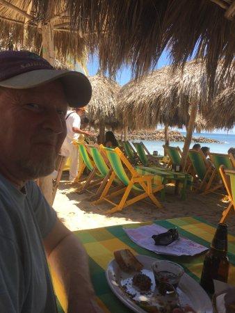 Beautiful lunch and view at El Dorado Restaurant in Punta de Mita.