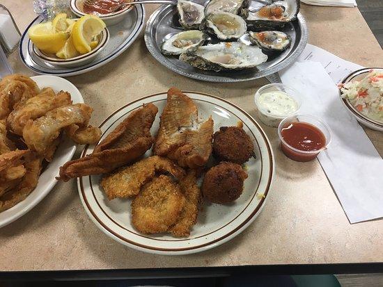 Picture Of White River Fish Market Tulsa