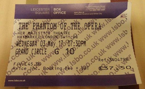Phantom of The Opera London : 20170503_173620-1_large.jpg