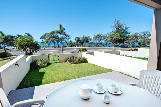 The Point Resort: Welcome to our ground floor ocean view apartment with space to move