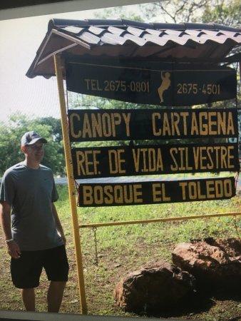 Cartagena Canopy Tour : Before the tour