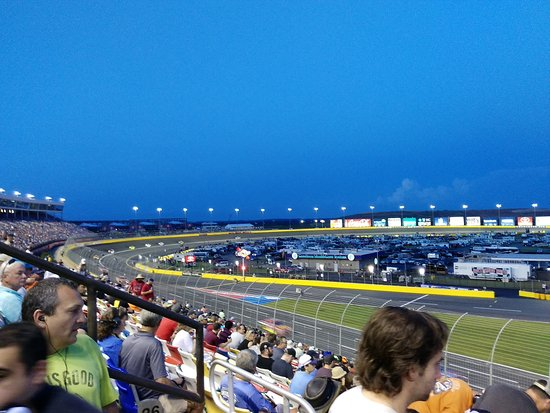Concord, NC: During the first laps of the race.