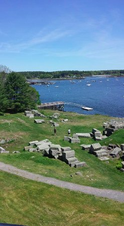 Kittery, ME: the view above of the tower house