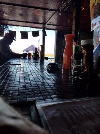 Surfside Beach, TX: Bar Looking Out Toward Water
