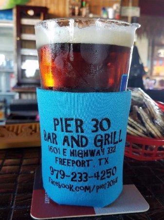 Surfside Beach, TX: Beer in Coozie