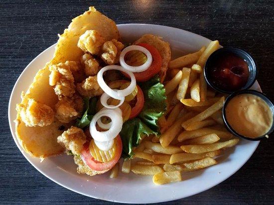 Lake Jackson, تكساس: Shrimp Poboy