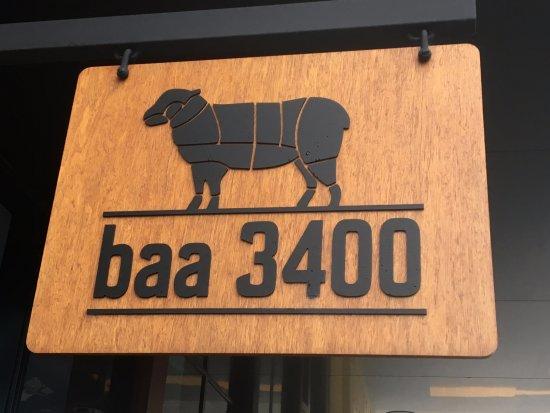 Horsham, Australia: baa3400 sign