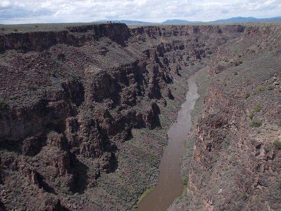 Taos County, نيو مكسيكو: Rio Grande Gorge, US 64, Taos NM.
