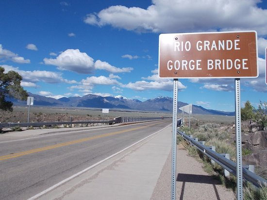 Taos County, NM: Rio Grande Gorge, US 64, Taos NM.