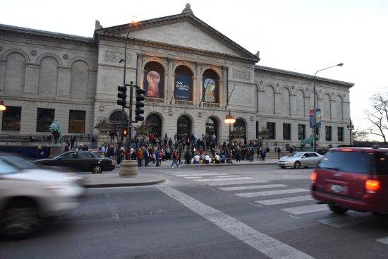 Instituto De Artes De Chicago: The Art Institute Of Chicago!