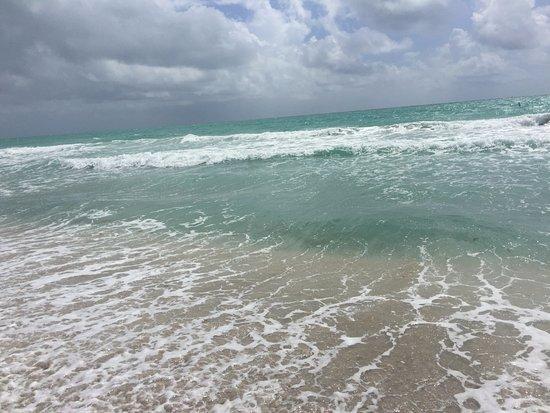 Bal Harbor Beach: día de viento!
