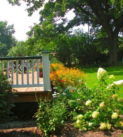 Wilmore, Кентукки: Back yard Deck