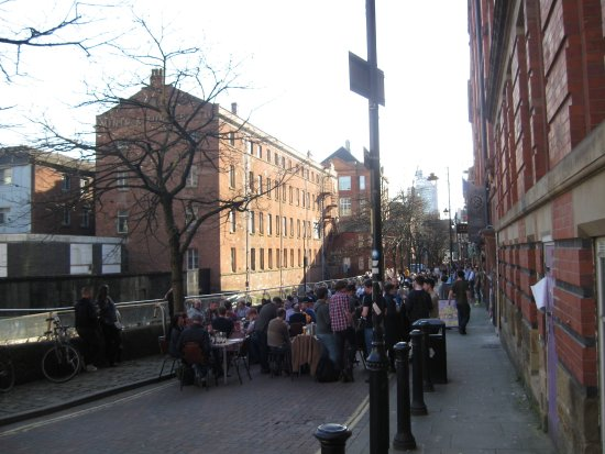 Gay Village: Canal St on a spring afternoon