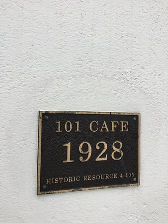 101 Cafe: historic