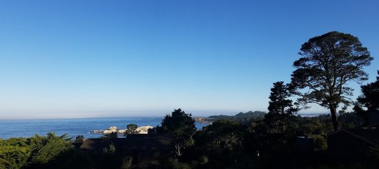 Hyatt Carmel Highlands: Photo taken from our room May 2017.