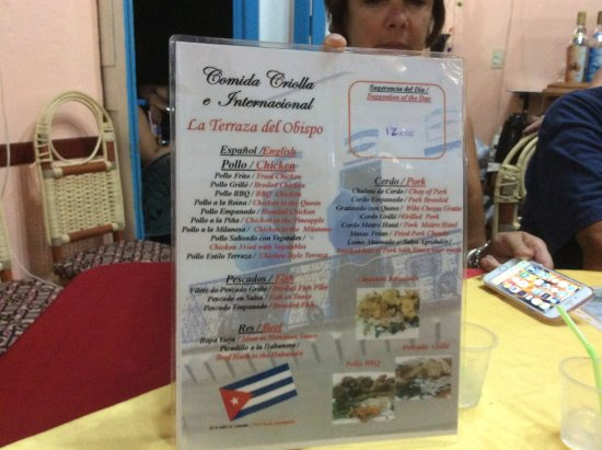 La Terraza Del Obispo Havana Restaurant Reviews Photos