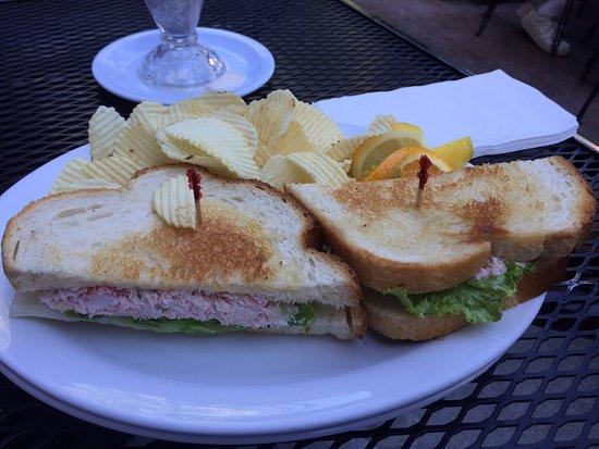 Vacaville, CA: Crab Salad Sandwich