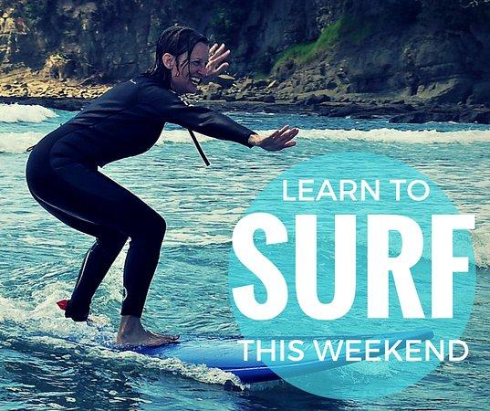Matakana, Nueva Zelanda: Beginner Surf Lessons
