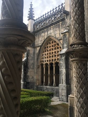 Batalha, Portekiz: Manueline style of the arcade screens of the cloister