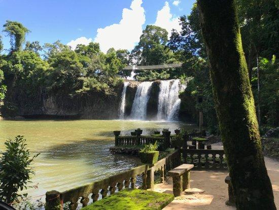 Mena Creek, Australien: Mena Falls from Paronella Park