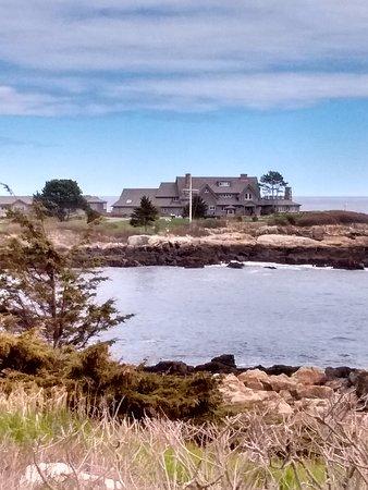 Walker's Point: George H.W. Bush summer home.