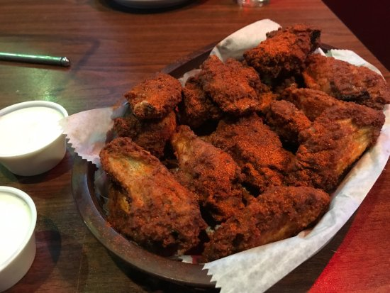 Richmond, KY: The wings are amazing! I love the hot rub.