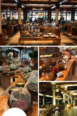 Ayodya Resort Bali: Breakfast Buffet.