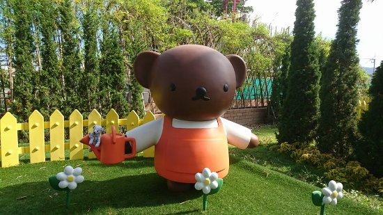 Cha-am, Tayland: Miffy 主題