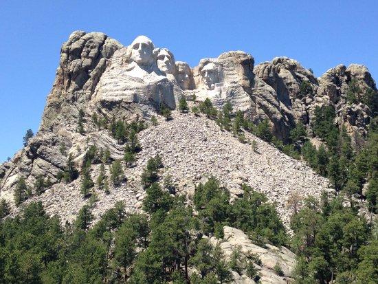 Mount Rushmore National Memorial : Mount Rushmore
