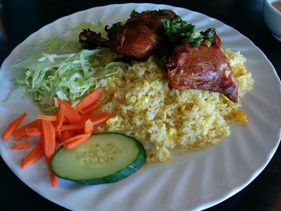 Pho 39: Fried Chicken with fried rice