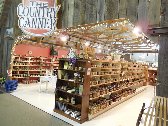 Harrisonburg, VA: Sample any number of jams and jellies at The Country Canner.
