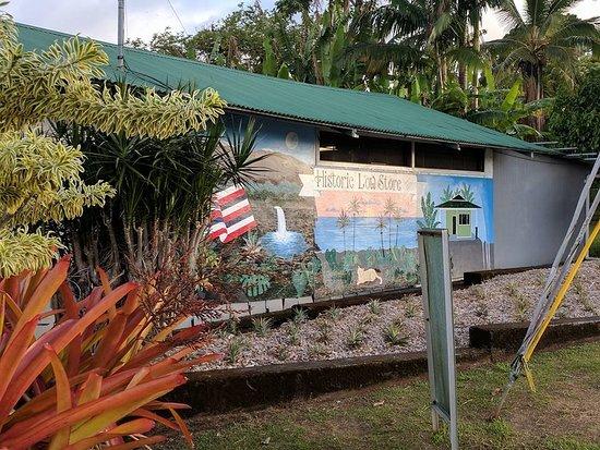 Pepeekeo, Hawaï: A little mural