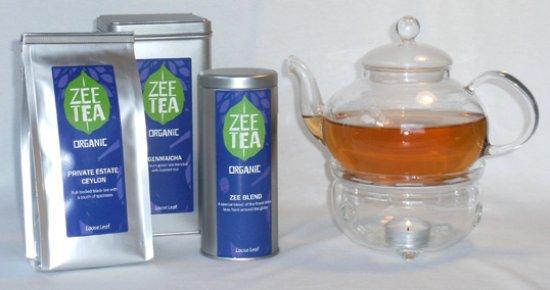 Tully, ออสเตรเลีย: organic zee tea range