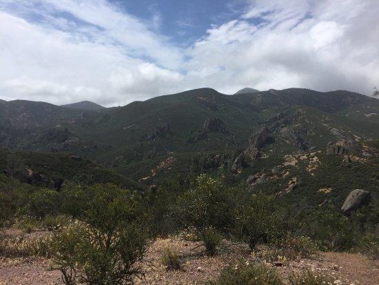Paicines, Kalifornien: View walking back from High Peak