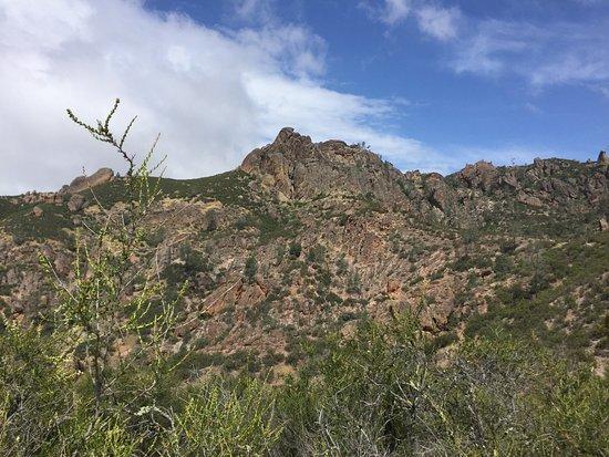 Paicines, Kalifornien: High Peak trail view